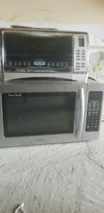 Microwave and Toaster - Stainless Steel - $99 for both