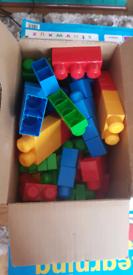 Big Box of megablocks