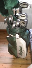 MacGregor left handed ladies golf club