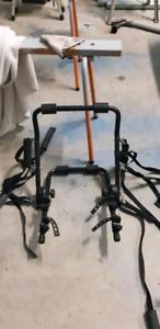 Car bike rack bike carrier no towball style