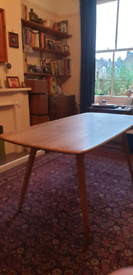Ercol Vintage Dining Table and Chairs