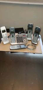 PANASONIC Cordless Phone with Bluetooth Connect