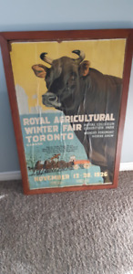 Royal Agricultural Winter Fair Poster from 1926