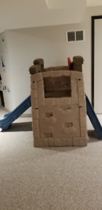 Step 2 Woodland Climber  + Little Tykes Outdoor House