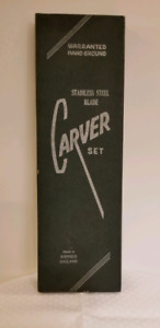 Stainless Steel Carver set - 3 piece