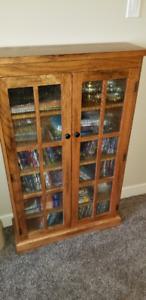 Solid oak Enclosed Bookcases