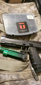 Tiberius t8 with 2 mags and a dealer service kit