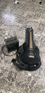 Youth Electric guitar and amp