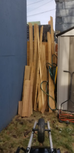 FREE LUMBER!!!! Pick it up and it is yours!