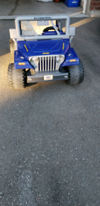 Fisher price, Power Wheel Jeep for kids