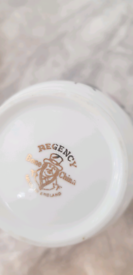 English bone china tea set. Crockery