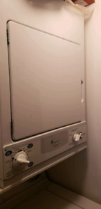 GE spacemaker washer and dryer combination