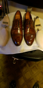 Bontoni hand made leather dress shoes