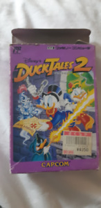 Duck Tales 2 Famicom game. Complete.