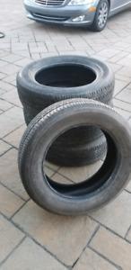 4 pneu hiver en excellente etat 235/60/18