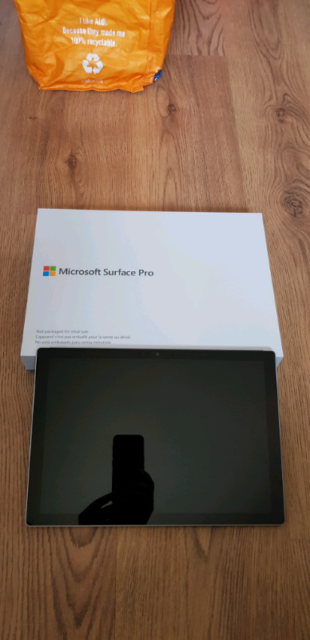 Microsoft Surface Pro 5, 256gb, 8gb RAM, Model 1796  Boxed NEW   in  Newton-le-Willows, Merseyside   Gumtree
