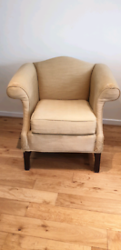 Armchair (re-upholstery project)