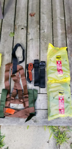 Tree stand harness & Safety system