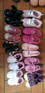 Little Girls Sneakers, shoes and dressy boots sizes 4-9