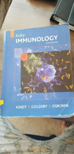 Kuby immunology , 6th edition