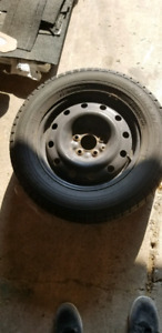 Set of Winter Tires and Rims