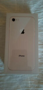 Mobile Phones iPhone 8 64gb gold BNIB w/ receipt