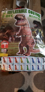 Inflatable T-Rex costume for kids