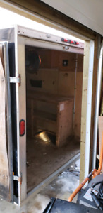 ***SOLD*** 6x12 v-nose enclosed trailer
