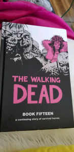 The walking dead hardcover book