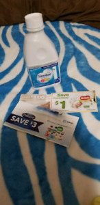 4 cans Similac advance, $7 coupon free