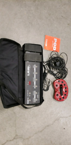 Line 6 pod and floorboard