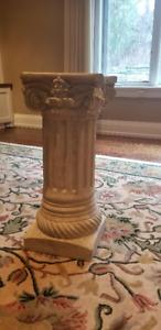 Decorative Vase and Grecian Column- $25 each or $40 both