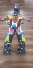 Kids moto x clothing
