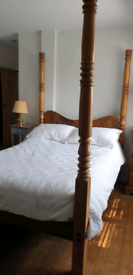 Antique Four Poster Bed, Cape Yellow Wood.... beautiful