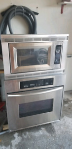Kitchen Aid wall oven + Microwave