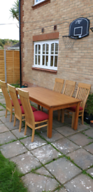 Table set, dining table