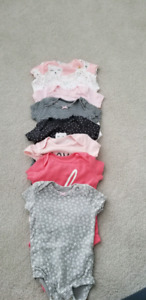 Carters/Gerber/Gap onesies, tops and leggings