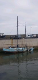Crew member required to sail from Seahouses to Grangemouth Sat 23rd