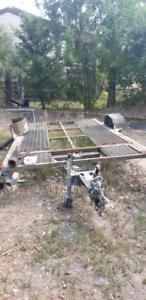 Car trailer - needs parts