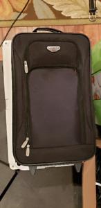 Black Roller Bag, Traveller's Club, Brand New!