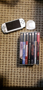 Psp with 8 games