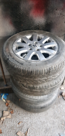 VW Polo Golf Lupo Alloy Wheels 15in