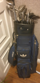 £35. ono Golf clubs with Adidas bag and strap too