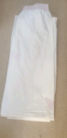 Laura Ashley butterfly Curtains, lampshade and bunting