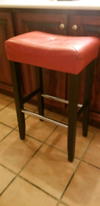 Wooden bar stools (3)
