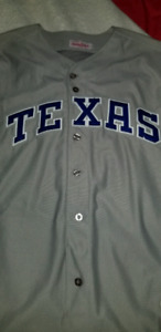 Selling Nolan ryan Cooperstown collection rangers  jersey