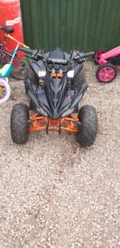 110 cc kids raging bull quad bike