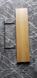 IKEA Lack Wall Shelf Oak Effect 110x26cm