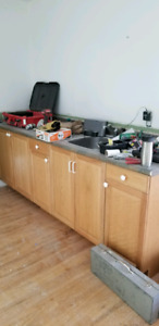 Vanities, kitchen sinks and toilets, kit cab unit