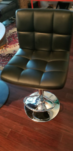 Canadian Tire Signature Bar Stools x 2  (Black) Must Have !
